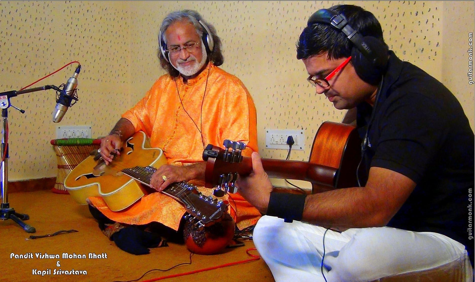 Kapil_Srivastava_Guitarmonk_And_Grammy_Winner_Vishwa_Mohan_Bhatt
